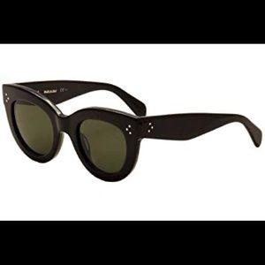 Céline Caty CL 41050/S Black Sunglasses